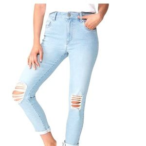 Cotton On Jeans Sz 8 High Rise Stretch Skinny Leg